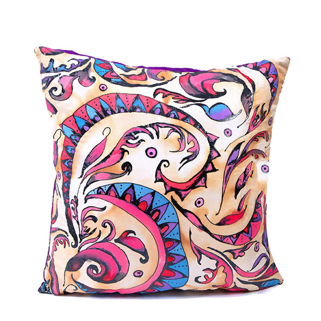 Carnivale Silk Cushion