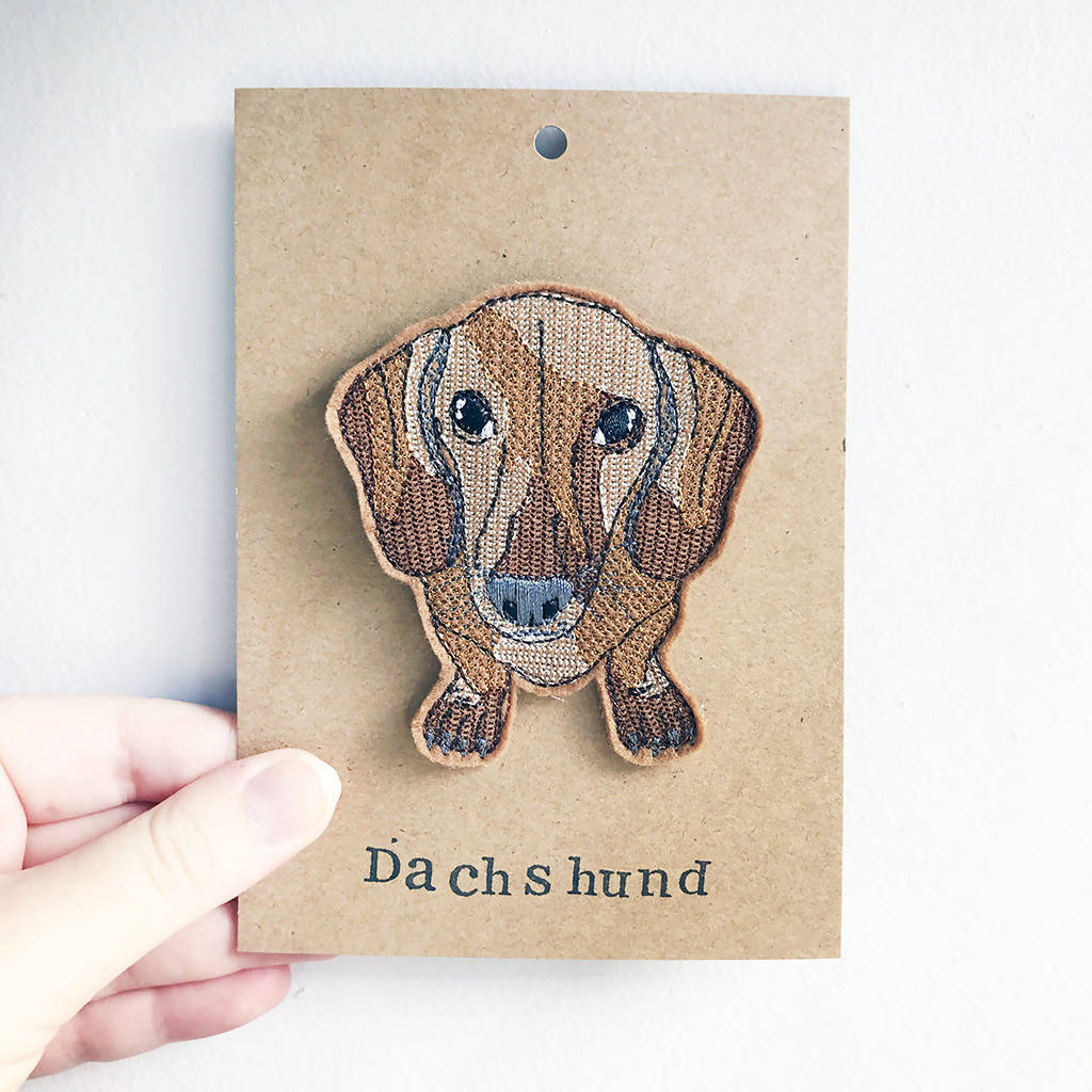 Dachshund Badge, Dog Badge