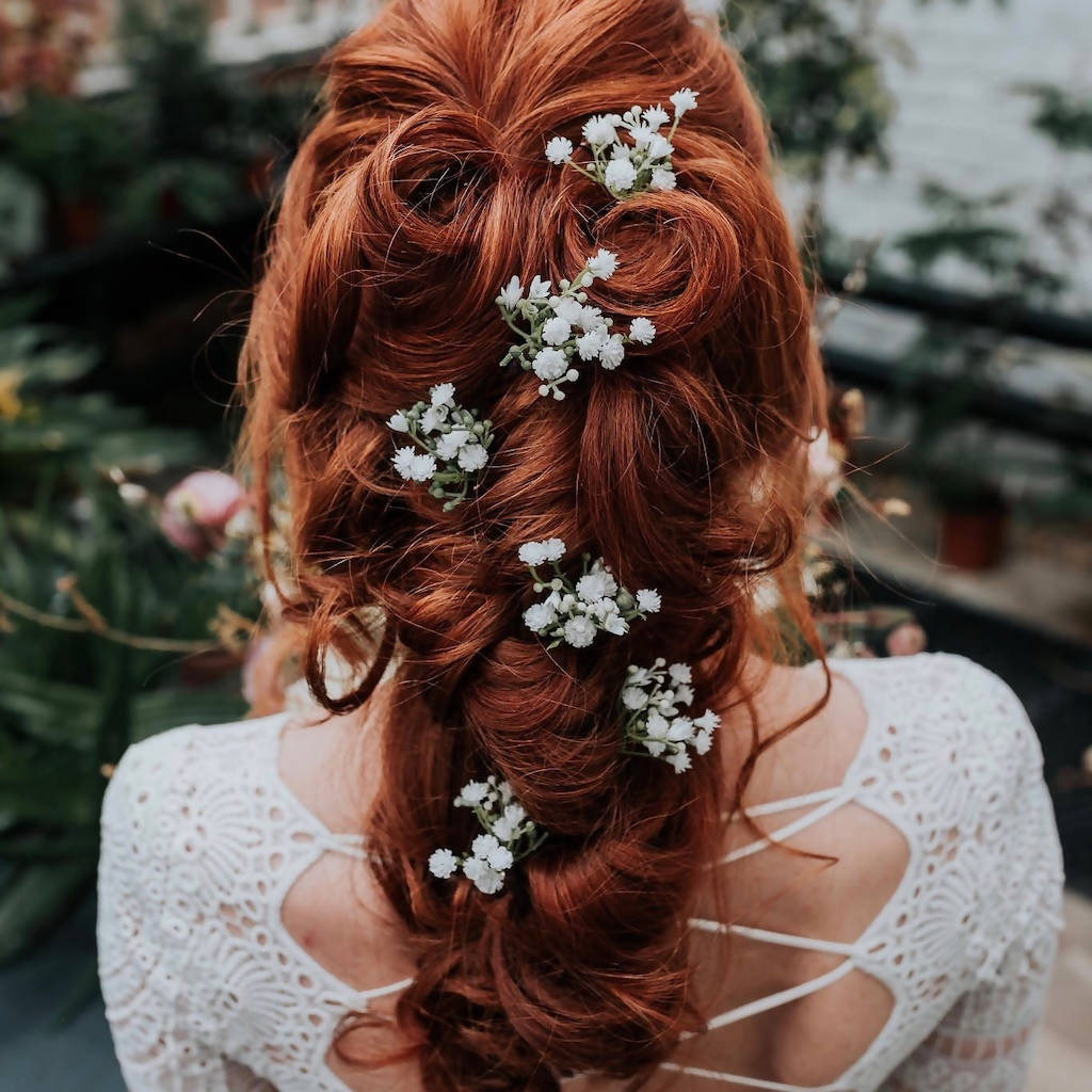 Hettie Gypsophila Hair Pin
