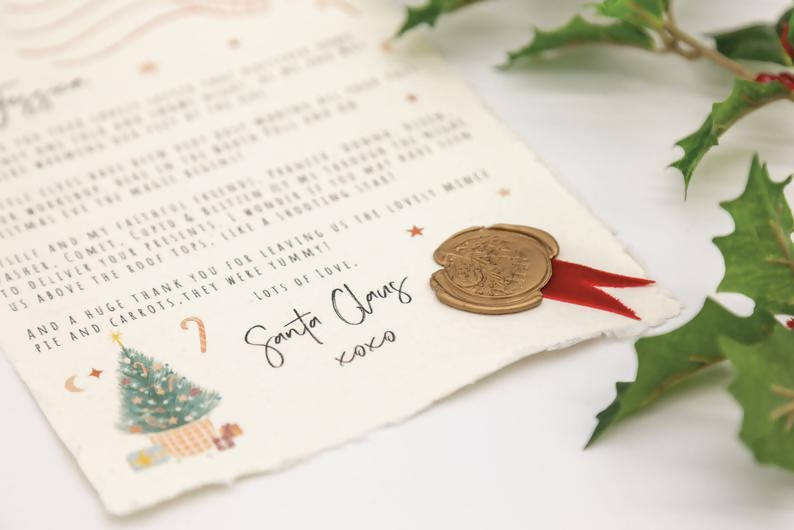 Personalised Letter to Santa Letter