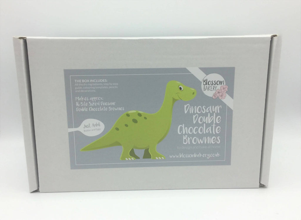 Dinosaur Brownies Bake at Home Box