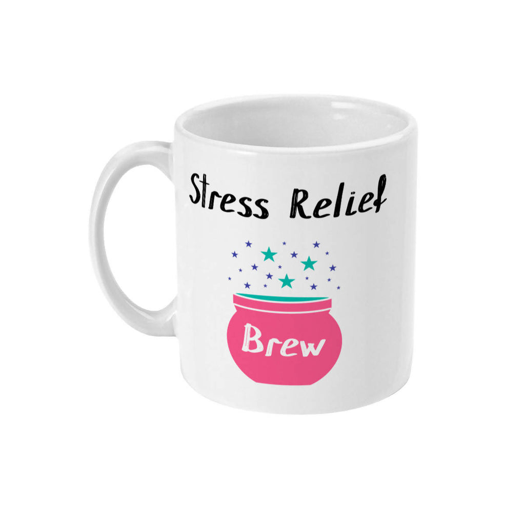 Stress Relief Brew Cauldron Mug