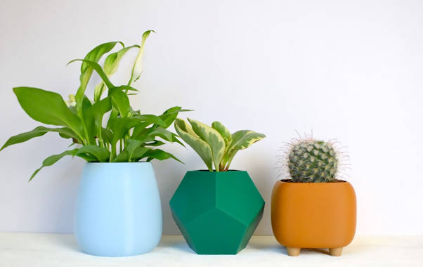 The Crafty Planter - Set of Three Pots
