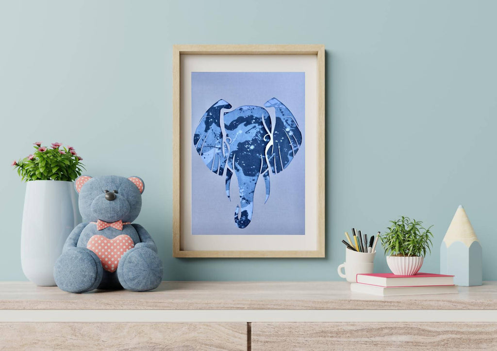 Your 1st Adventures Framed - Elephant