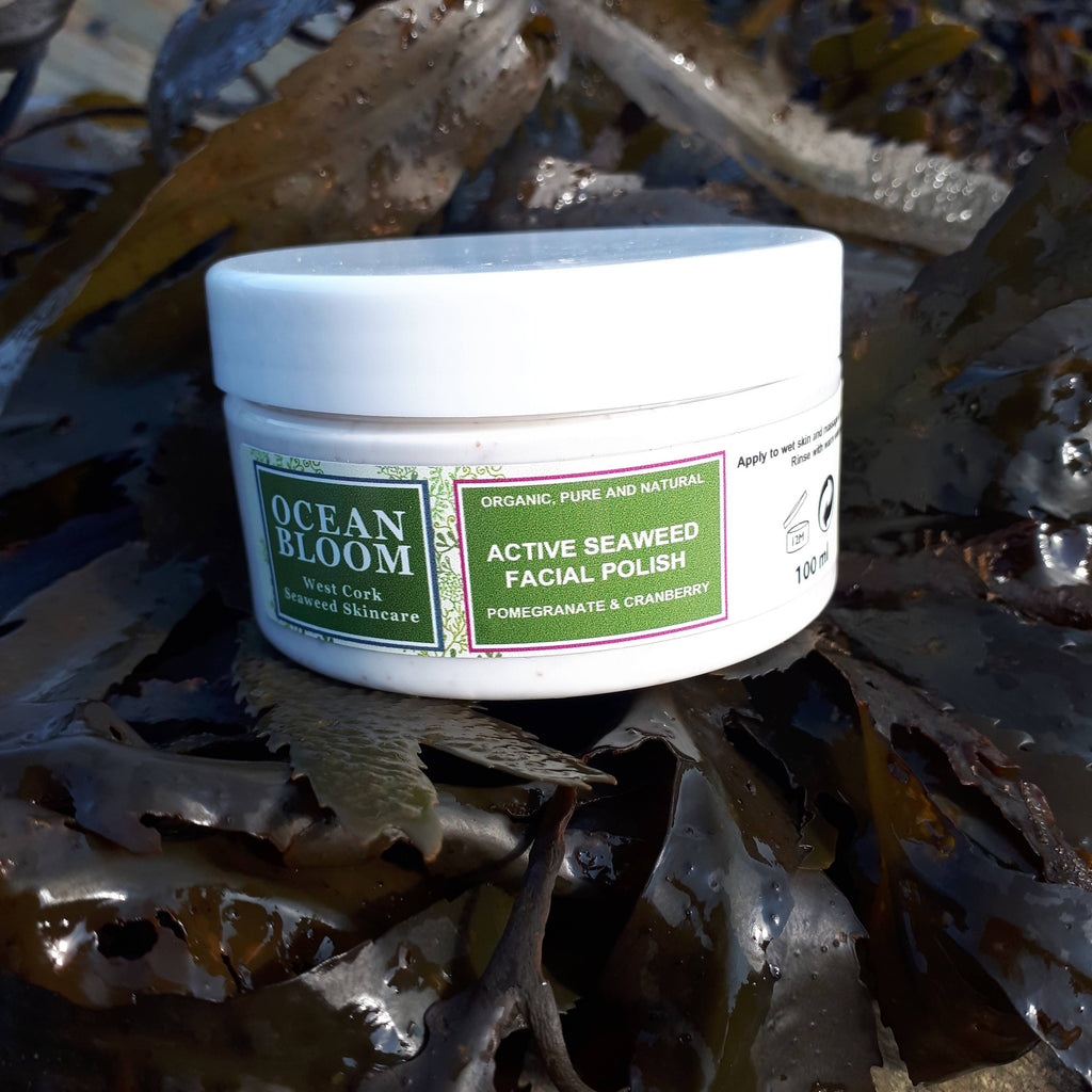 Active Seaweed Facial Polish Pomegranate and Cranberry
