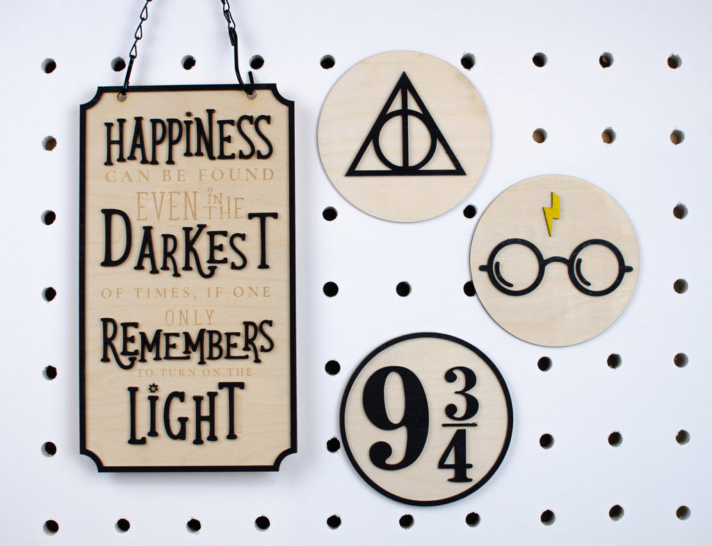 Harry Potter wall sign collection