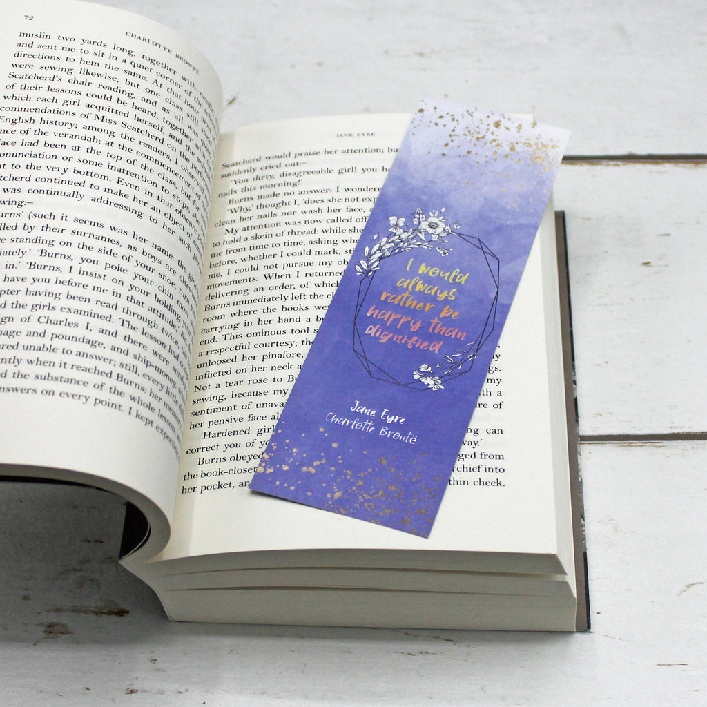 Classic Women of Literature Bookmark Set - Eco-Friendly