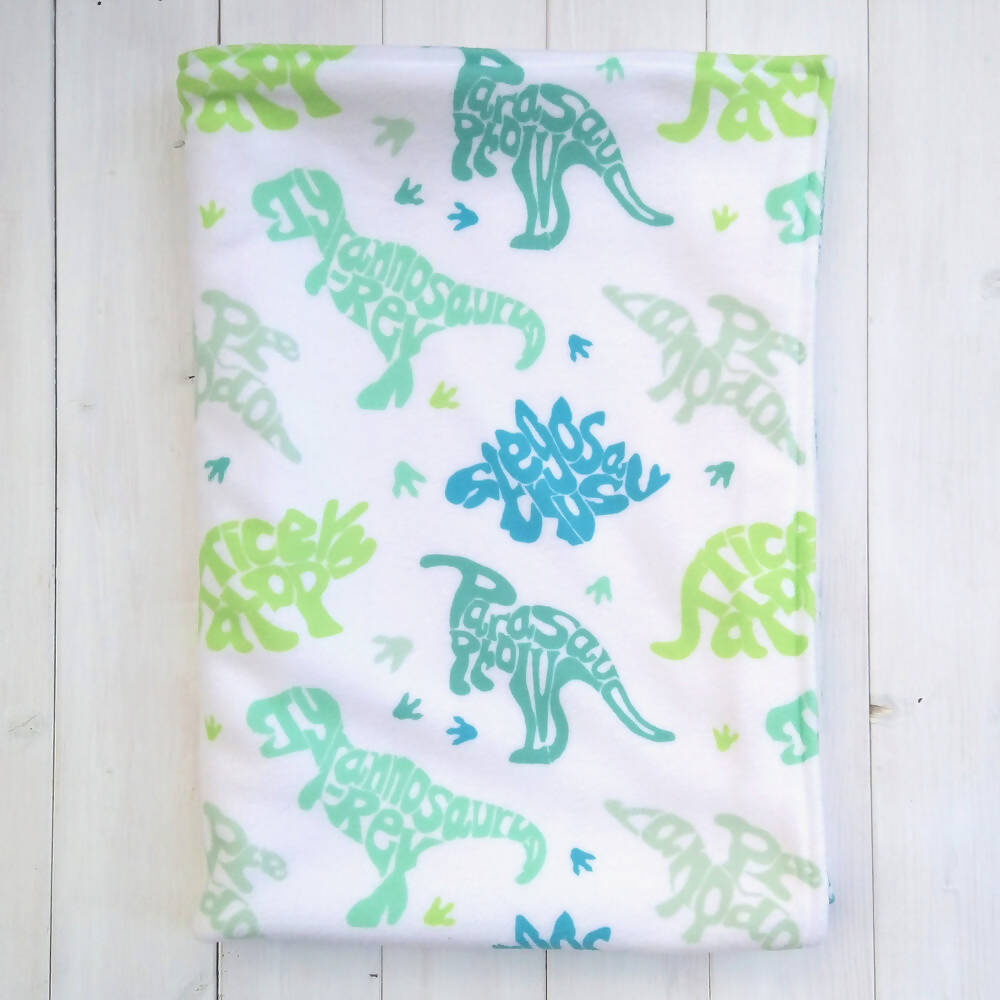 Dinosaurs Fleece Blanket