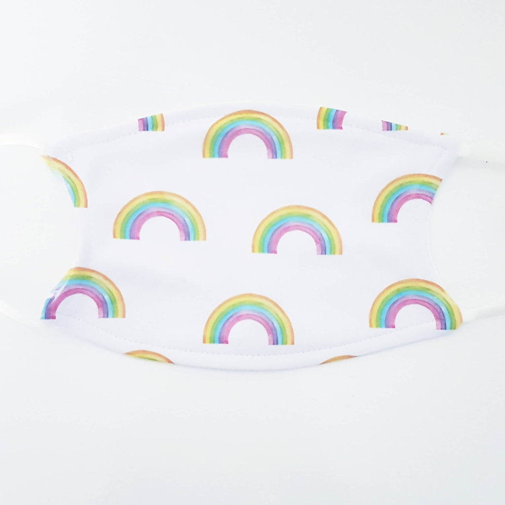 Adjustable Face Mask - Rainbows