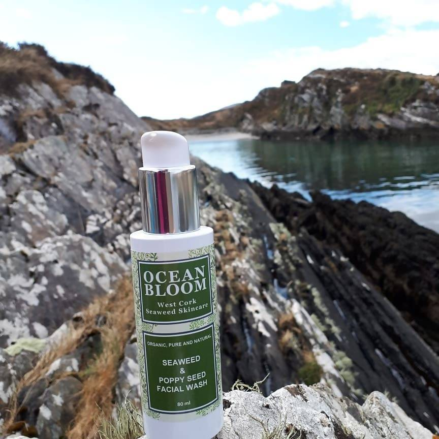 Seaweed and Poppy Seed Facial Wash Fragrance Free