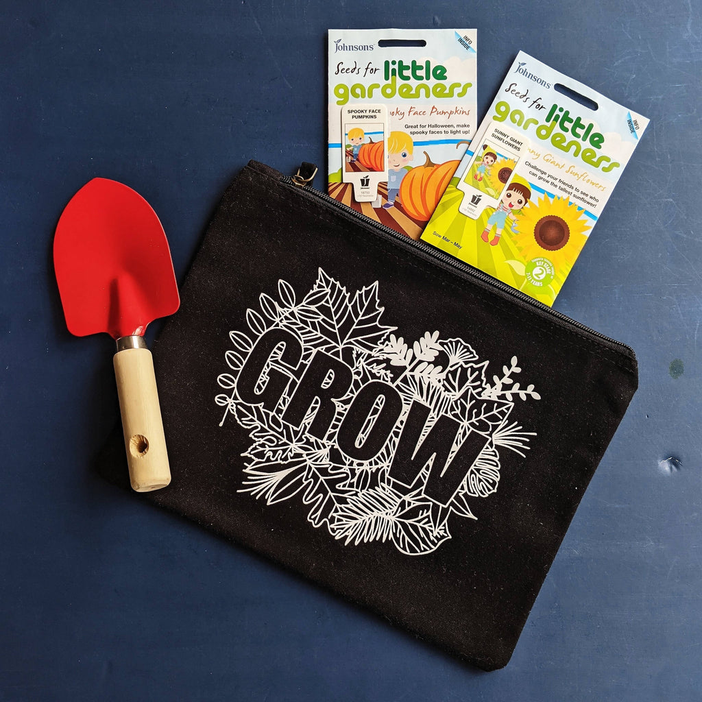 Little Gardeners Black and White Grow Kit