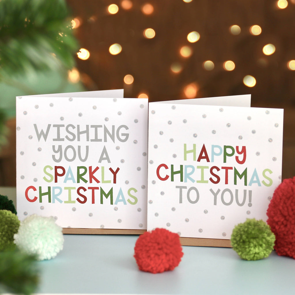 Pack of 6 Festive Fun Christmas Cards
