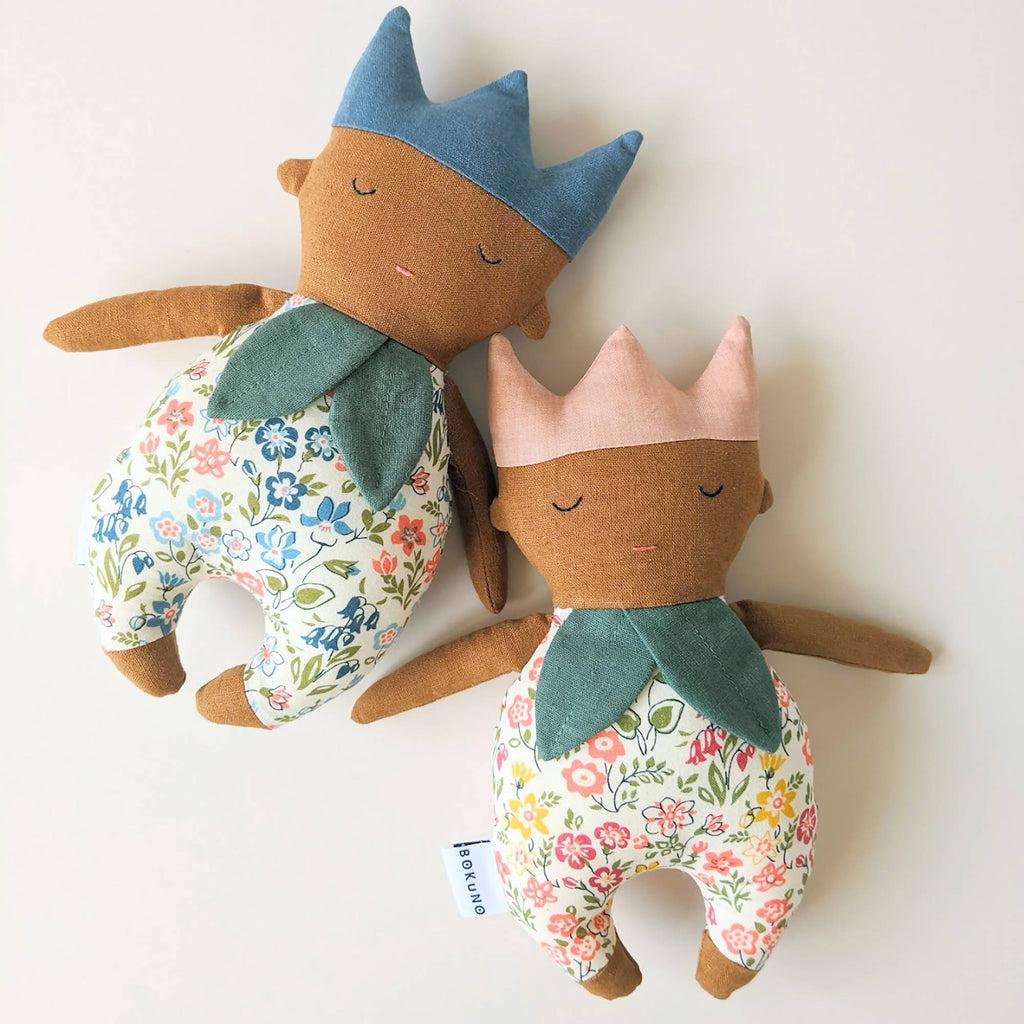 Woodland Babies | Flower Doll | Flower Rattle