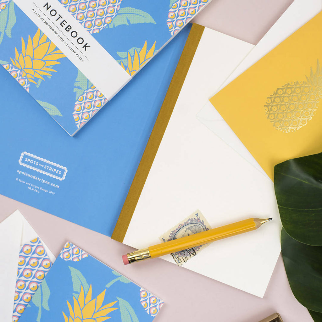 PINEAPPLE PAPERBACK NOTEBOOK