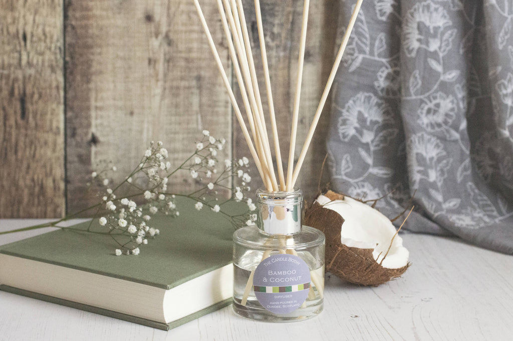 Bamboo and Coconut reed diffusers