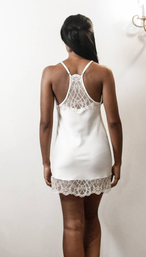 Gabby Nightie Ivory by Flora Nikrooz