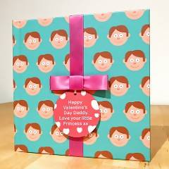 Dad Gift Book With Socks & Personalised Tag - Present for him