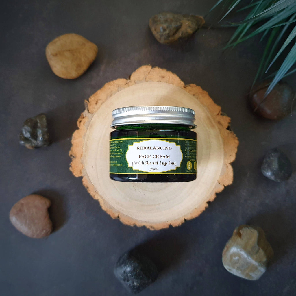 ReBalancing Face Cream (For Normal to Oily/Kapha Skin) 50ml (Apricot, Kiwi and Sandalwood)
