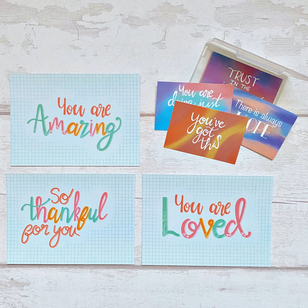 Letter Box Encouragement Gift Set