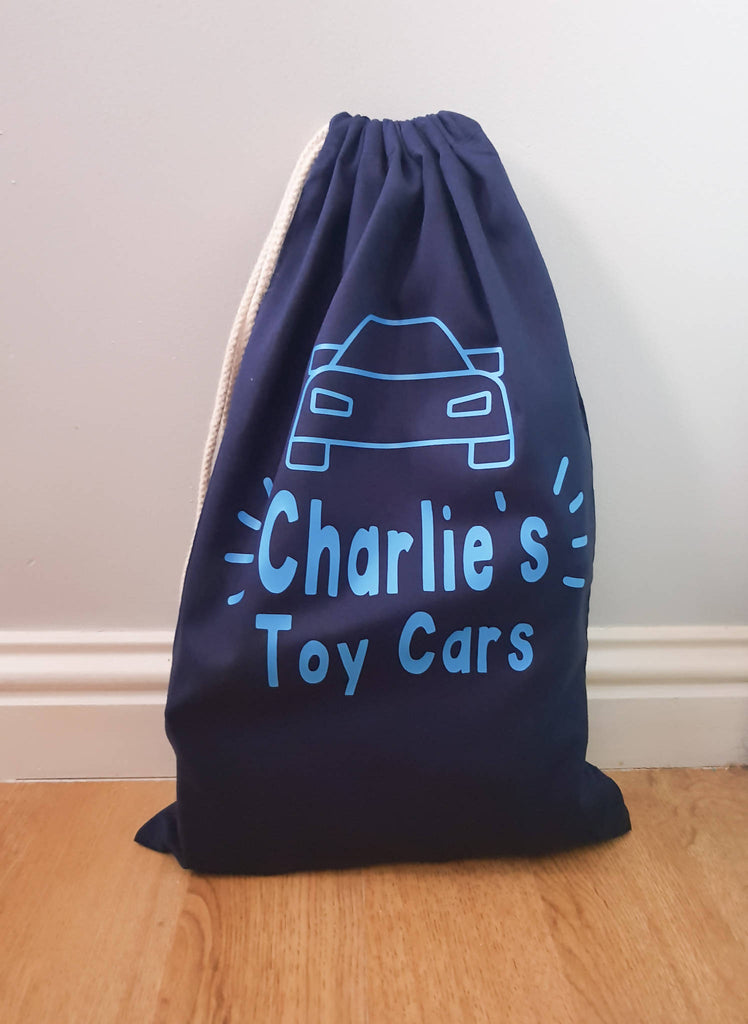 Personalised Toy Storage Bags