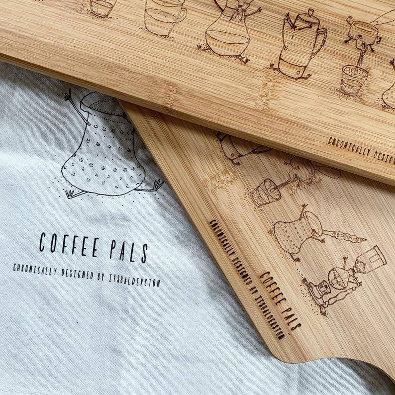 Coffee Pals Chopping Board