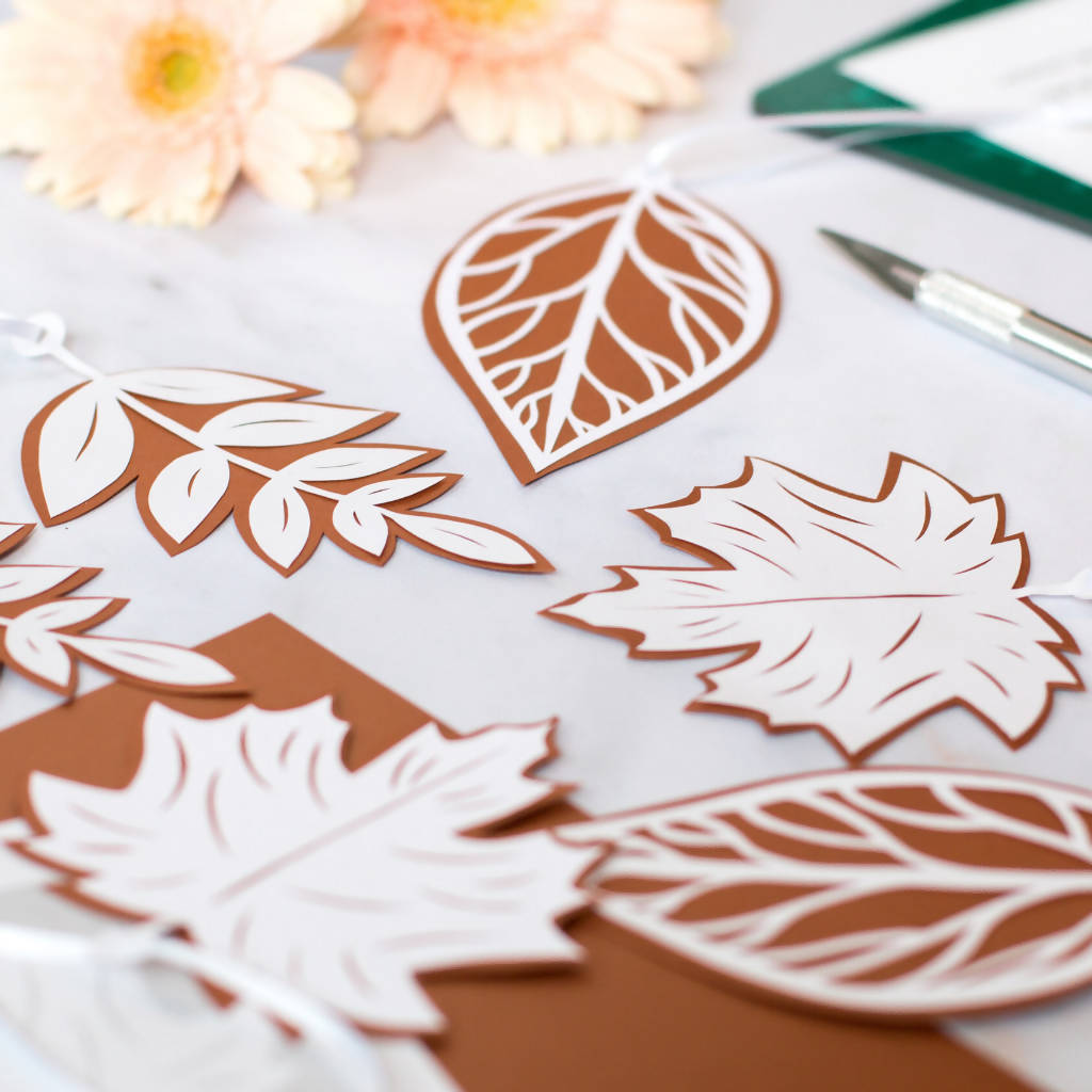 Leaves Paper Cutting Project Kit