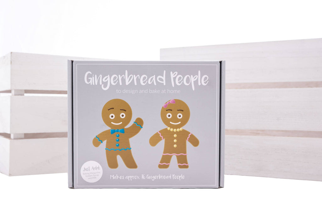 Gingerbread People Bake at Home Kit