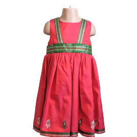 Red Green Silk Party\Christmas Dress