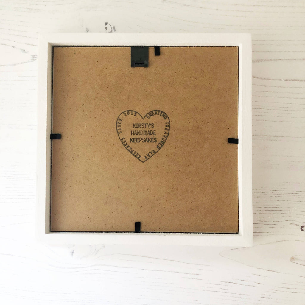 Personalised engagement gift heart