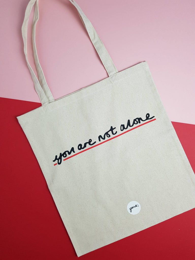 You are not alone - Tote bag