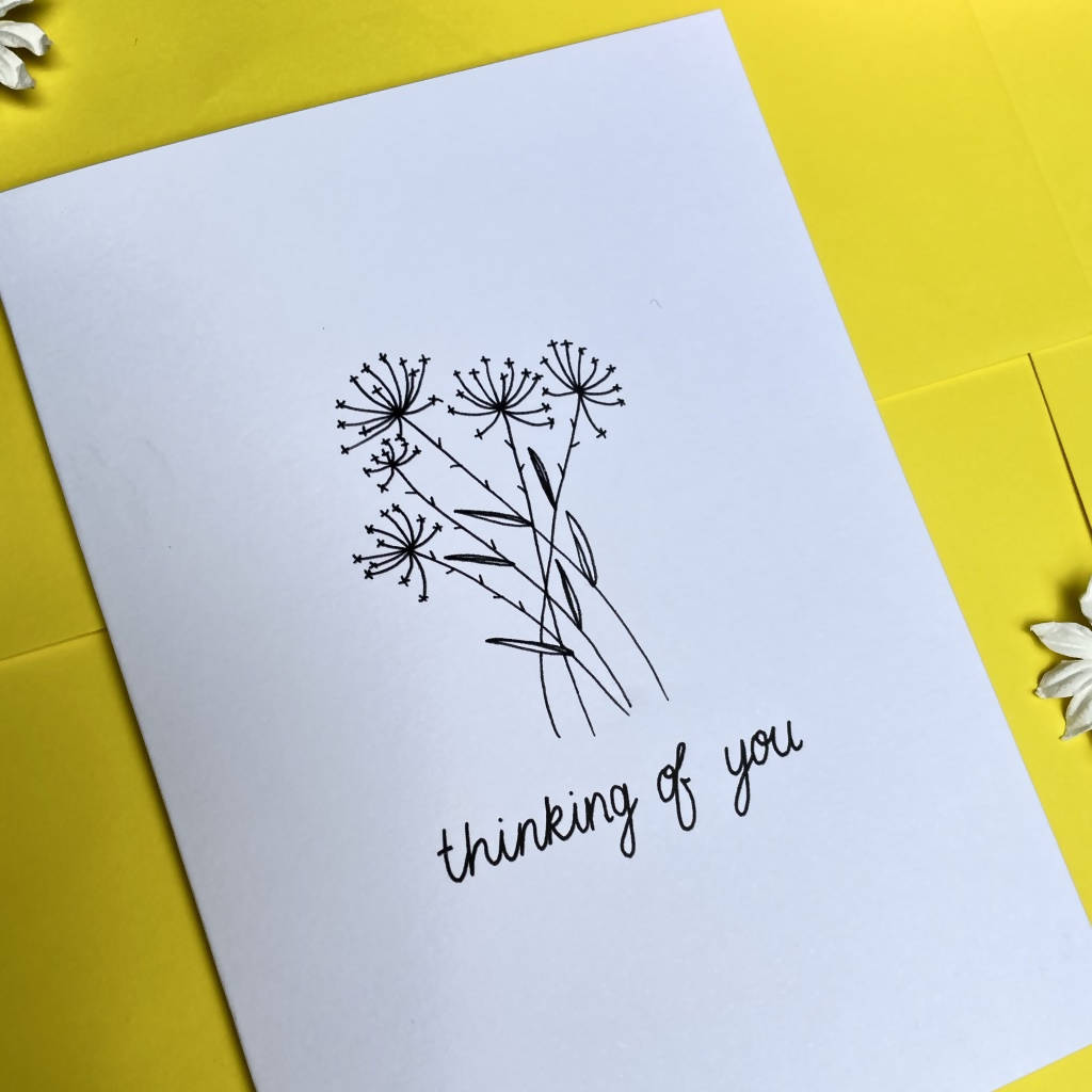 Thinking of you A6 Card