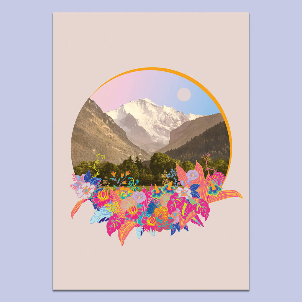 Fancy Land (Blush) Art Print