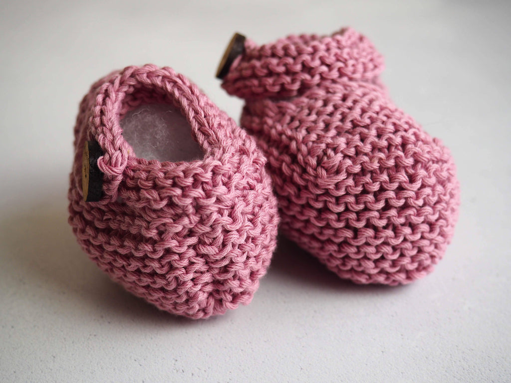 Pink Mary Jane Booties