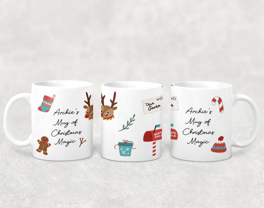 Named Mug of Christmas Magic