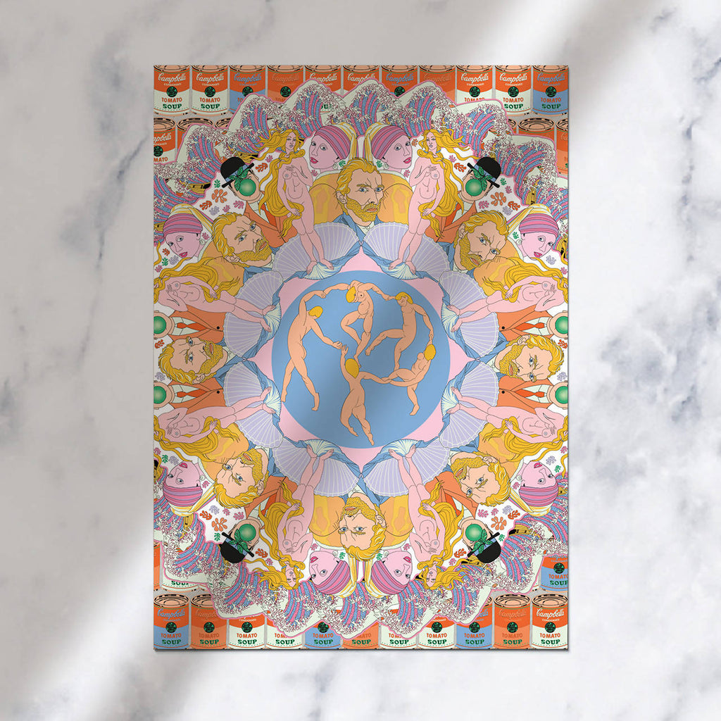Art Kaleidoscope Art Print