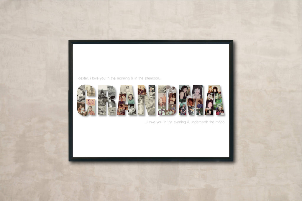 Personalised Family Framed Print