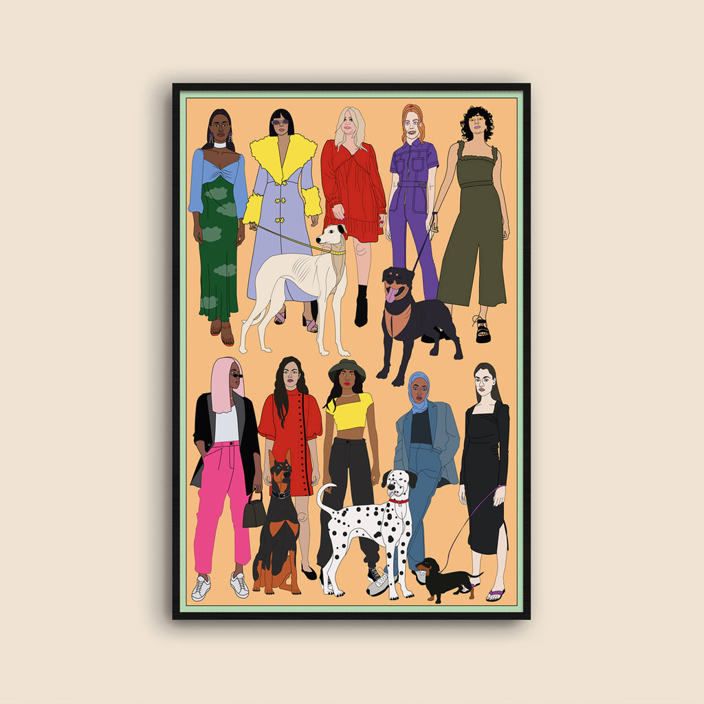 Fash Pack and Furends Art Print