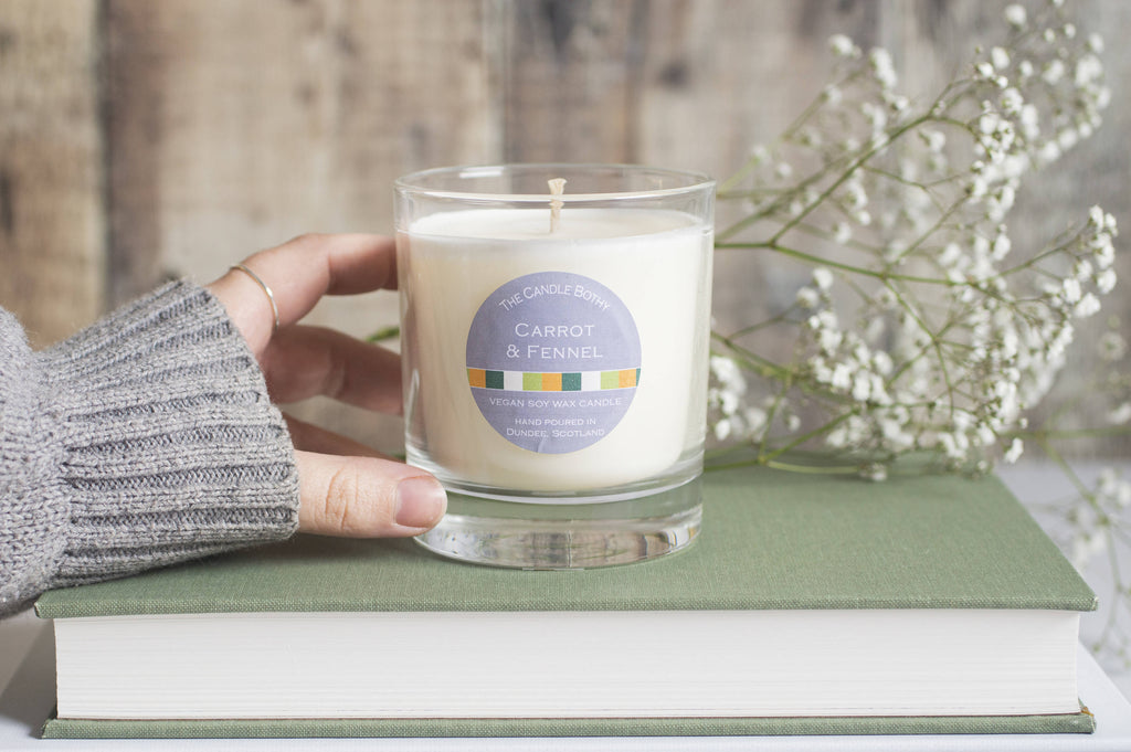 Carrot & Fennel soy wax candle