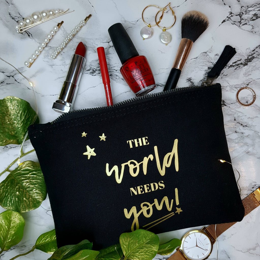 The world needs you! - Accessories / make-up bag