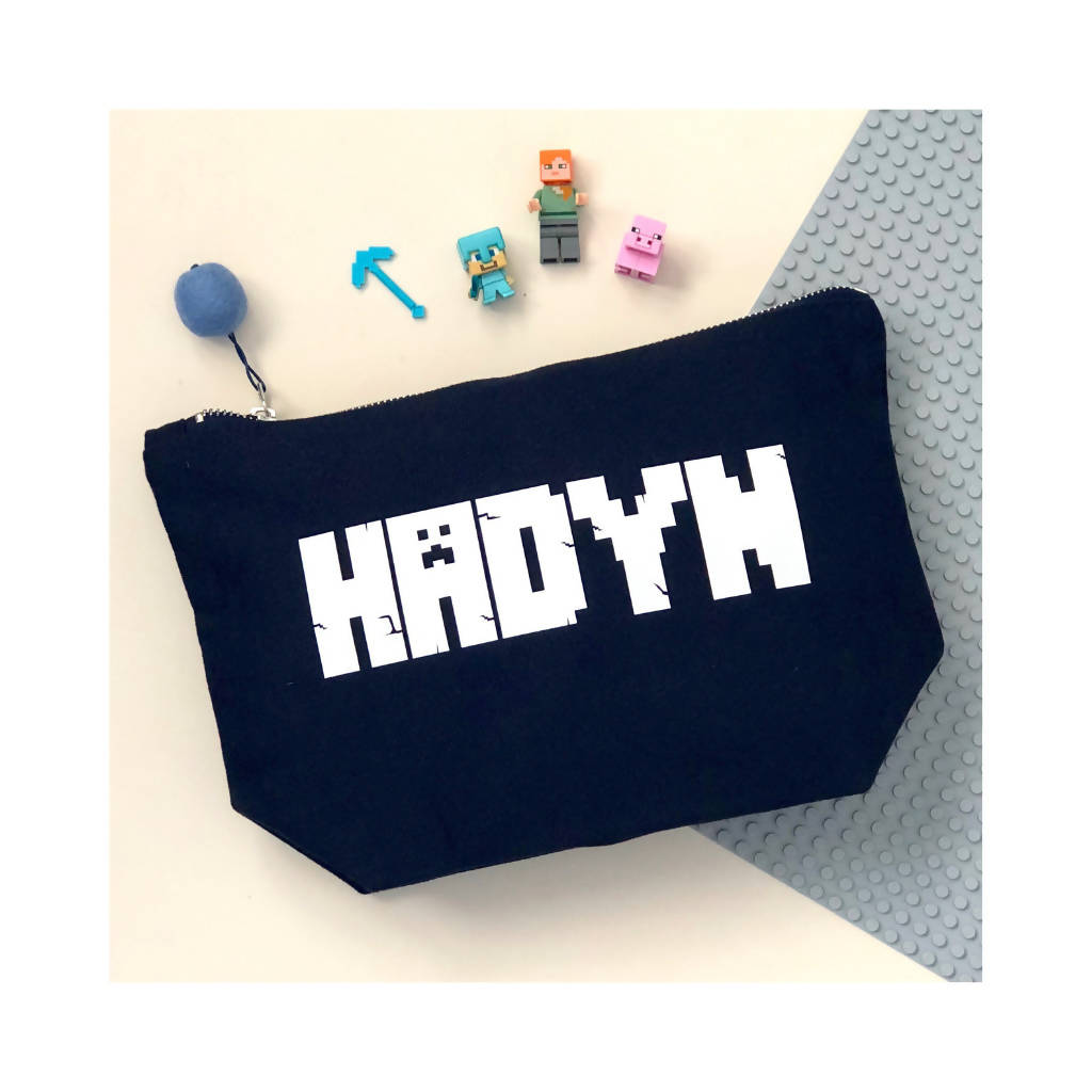 Personalised Wash Bag/Pencil Case/Storage Bag