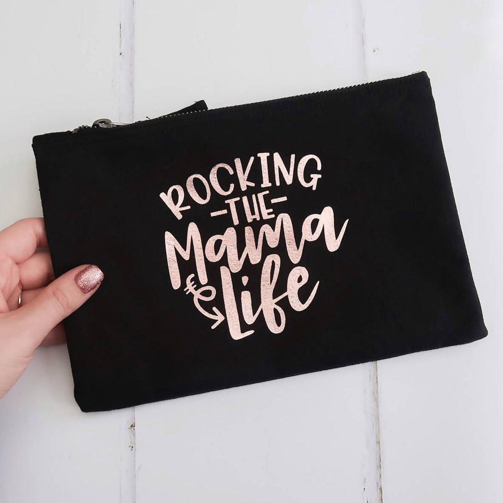 Rocking The Mama Life Foil Bag