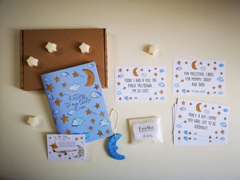 New Parent and Baby Gift Box