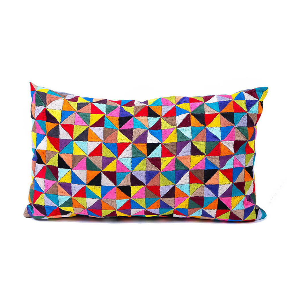 Geometry in Colour Cushion