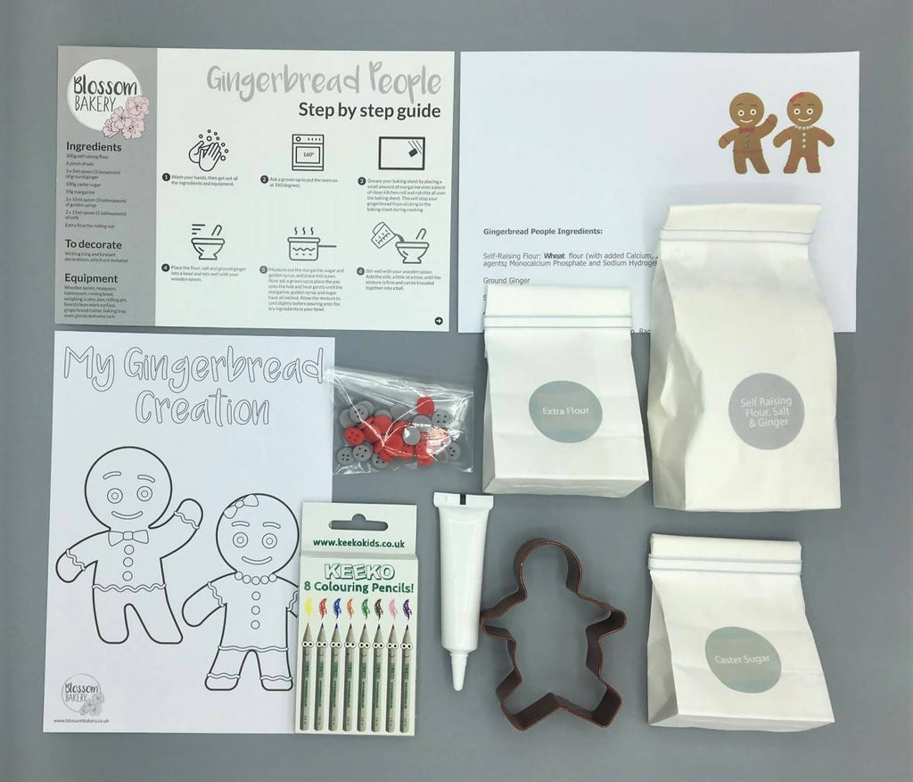 Gingerbread People Bake at Home Box