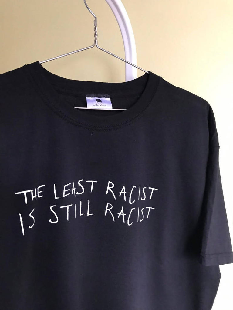 The Least Racist, is Still Racist Dave the rapper Black lyrics Brit performance Unisex organic cotton T-shirtT-shirt