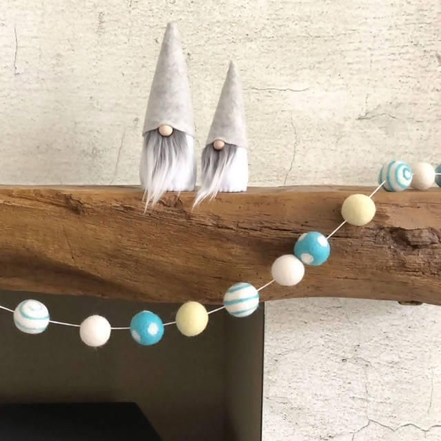 Special Edition Felt Ball Garland - 3 colour combinations to choose from!