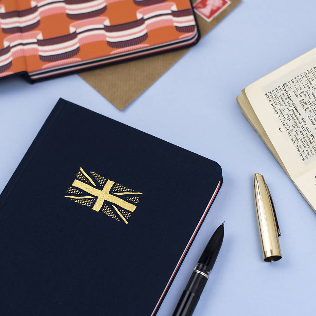 UNION JACK HARDBACK NOTEBOOK