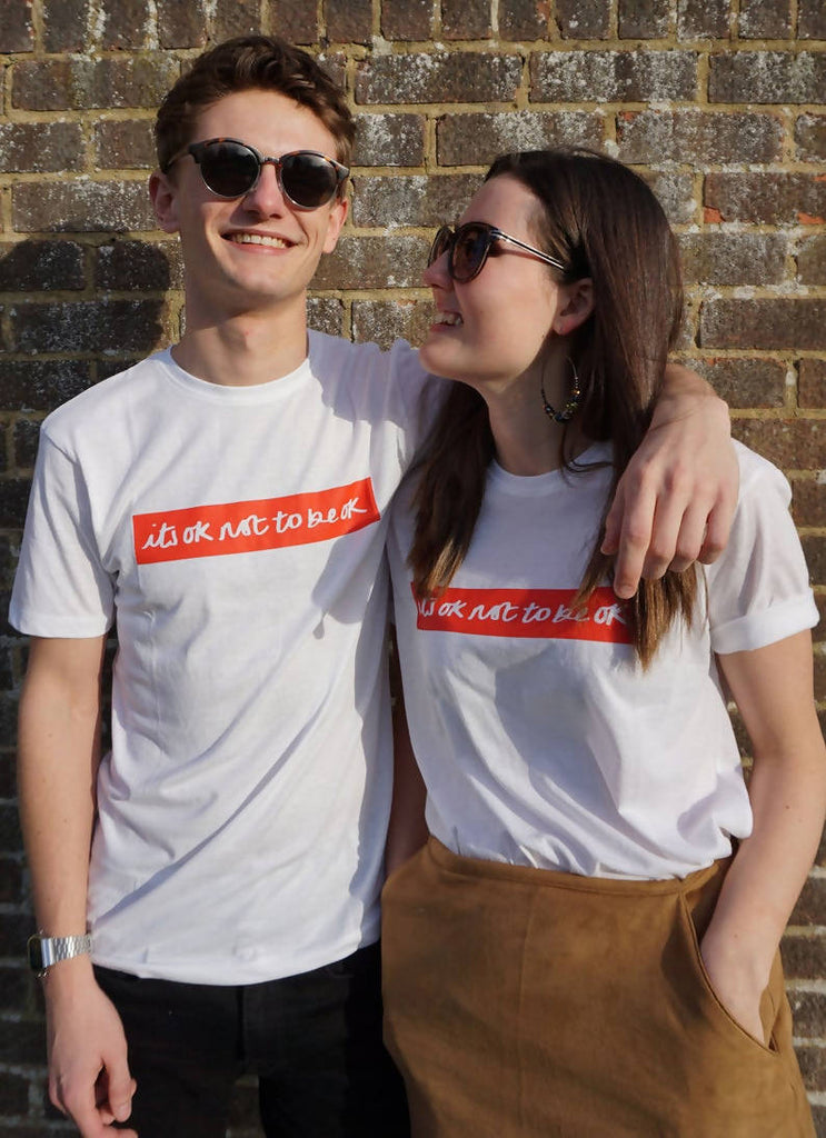 its ok not to be ok - Unisex t-shirt