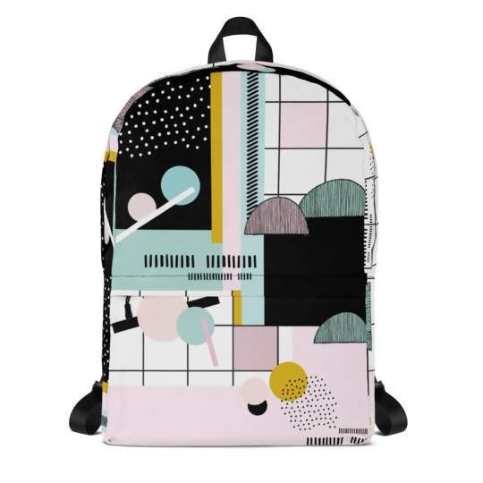 Pastel Memphis Backpack