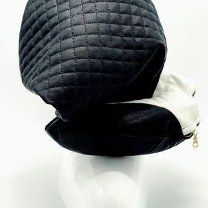 TRAVEL PILLOW | LEATHER  VS  LEATHER